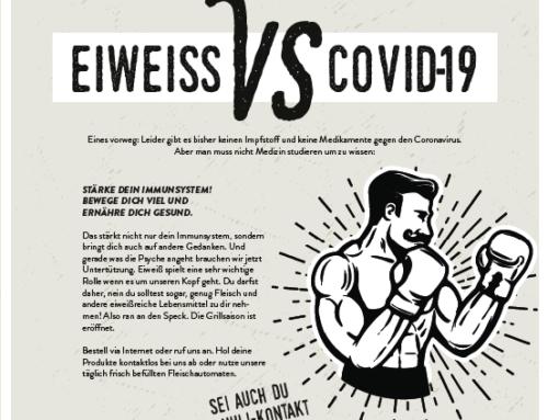 Eiweiss vs. Covid-19